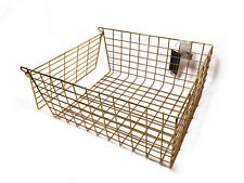 White/Brass/Chrome Front Door Letter Cage/Post Box Basket, Pet Guard Catcher