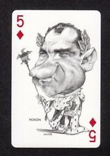 Richard Nixon President USA 1973 Political Playing Card Look! issued in Spain
