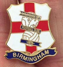 Birmingham City St George Scudo smalto pin badge