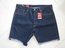 Levi's 501ct Men's Indigo Blue Cut out Stretch Shorts W 38
