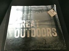 Pottery Barn Teen INTO the GREAT OUTDOORS Photo Real PILLOW COVER Woods Tree NEW