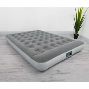 Full Size Air Bed Mattress Inflatable With Built In Ac Pump Sleeping Camping New