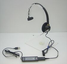 Plantronics EncorePro HW510V Mono Headset with DA80 Audio Processor for Computer