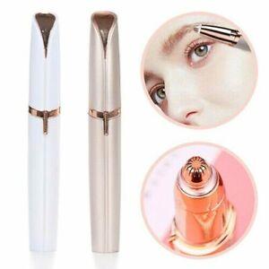 Womens Electric Eyebrow Trimmer Hair Remover Face Brows Razor Remover Epilator