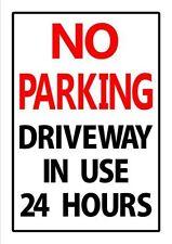Aluminium No Parking Decorative Plaques & Signs
