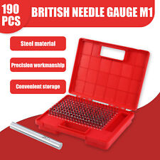 190pcs M1 0061 0250 Steel Pin Plug Gage Set Minus 00002