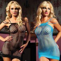 Ladies Sexy Net FishNet Body Stocking Lingerie Nightwear/Underwear Lady Babydoll