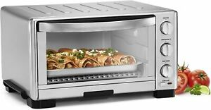 Cuisinart TOB-1010 1800W Toaster Oven Broiler - Silver