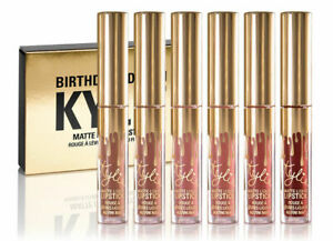 Matte Liquid Lipstick 6PCS Birthday Edition Set (UK - FAST & FREE DELIVERY)