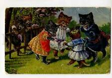 414857 Dressed CATS Round dance by Arth. THIELE old TSN #1667