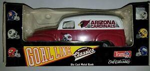 NFL Arizona Cardinals 1951 GMC Panel Van Truck Bank Ertl  Die-Cast 1995