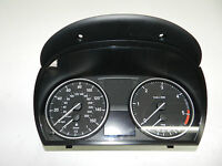 BMW 3-SERIES E90 E91 DIESEL INSTRUMENT CLUSTER SPEEDO CLOCKS 9166849  REF2678