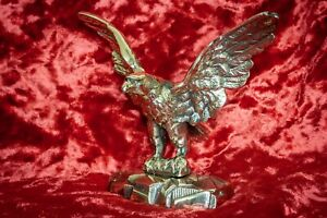 Adler 210 x 170 mm 1,35kg aus Massiv Messing #O15