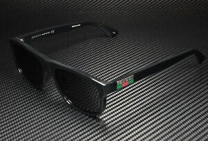 GUCCI GG0770SA 001 Black Shiny Grey Square 58 mm Men's Sunglasses