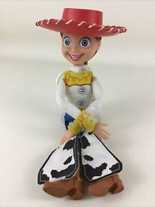 "Disney Toy Story 2 Pull String Jessie Talking Cowgirl 13"" Doll w Hat Hasbro 2005"