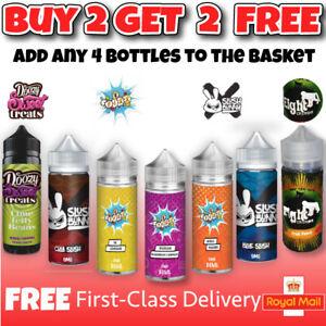 100ml Doozy EFizz Slush E liquid Eliquid Vape Juice Flavour No Nico VG PG 70/30
