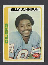 1978 Topps #390 Billy Johnson OILERS NM  C000012971