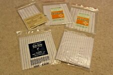 Lot of 14 pieces MCG Textile Tear Away Waste Canvas 10 count combed Cotton