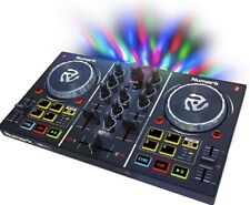 Numark Party Mix DJ Controller with Built In Sound Card Light Show