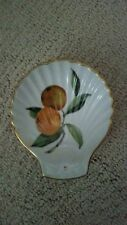 Royal Worcester EVESHAM Gold Trim Small Shell Dish