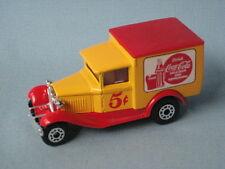 Matchbox Ford Model A Van Coke Coca-Cola Red Bottle 5 Cents UB