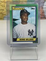 SHIPS SAME DAY Topps 1990 Baseball Card NM Bernie Williams #701 New York Yankees