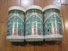 3 NEW Bath & Body Works 8 oz Vanilla Bean Noel Bath Salt Soak
