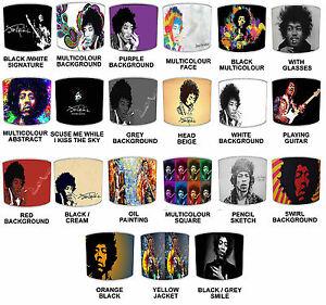 Jimi Hendrix Lampshades, Ideal To Match Jimi Hendrix Ablums Posters