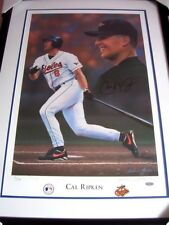Cal Ripken signed autographed auto Orioles lithograph litho framed #/800 STEINER
