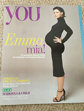 YOU Magazine April 2016  EMMA WILLIS Pregnancy uk PHOTO INTERVIEW madonna