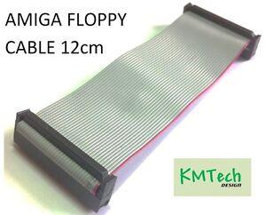 Double density 34 way ribbon cable Amiga 12cm NEW