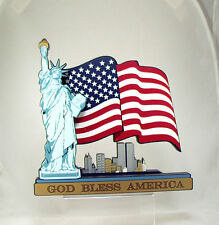 Shelias God Bless America World Trade Center Sept 11, 2001, Statue Of Liberty