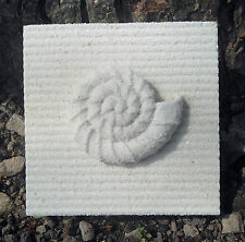plastic Sea shell tile mold plaster concrete casting mould