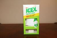 "KOOL 12oz Thermal Coffee Plastic Travel Mug - ""New in Box"""