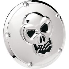 3d Skull embrague tapa cromo, f. Harley-Davidson Twin Cam 99-hoy