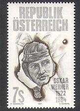 Austria 1997-Oskar Werner/ATTORE/Teatro/Entertainment/PEOPLE 1 V (n37957)
