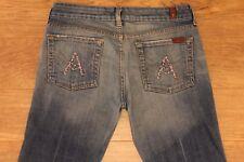 7 for all Mankind Seven women's denim jeans A Pocket Sz 28 W-32 L-33.5 R-7.5 EUC