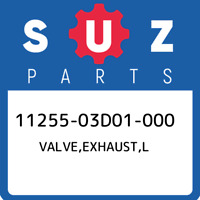 11255-03D01-000 Suzuki Valve,exhaust,l 1125503D01000, New Genuine OEM Part