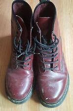 WOW!!! Women's 9 Doc Marten Oxblood military boots