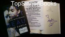SIGNED The Most Beautiful My Life with Prince Hardcover by Mayte Garcia