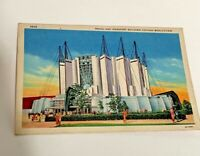 Vintage 1934 Chicago World's Fair postcard ~ Travel And Transport Building