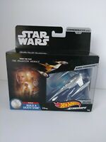 Hot Wheels Star Wars Commemorative Series #1 Starship Exclusive Metallic Sealed