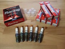 6x Ford Mustang 3.8i V6 y1993-2004 = Haute Performance LGS Silver Spark Plugs