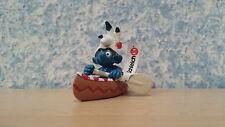 20549 Schleich Kanu Schlumpf Indianer Smurf Schlümpfe aus Sammlung 7