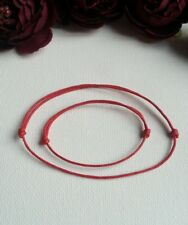 Baby Boy Girl and Mum Lucky Red Protect for Evil Eye Cord Bracelet