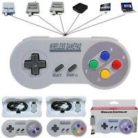 Wireless Spiel Controller Gamepad Joypad Für Super Nintendo SNES Mini Konsole