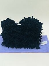 """NWT Special Edition Lulu Guinness Bag Black Mini Lap Dog Poodle 19/500 8""""x 10"""""""