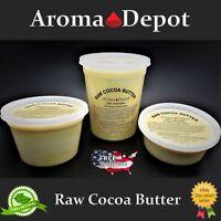 100% Raw Cocoa / Cacao Butter PURE PRIME Pressed - Unrefined FOOD GRADE