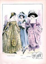 Ladies Edwardian Fashion Art Print 10 x 8 home decor