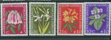 Netherlands New Guinea 1960 Flowers full set mint lightly hinged